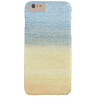 Abstract Watercolor Barely There iPhone 6 Plus Case