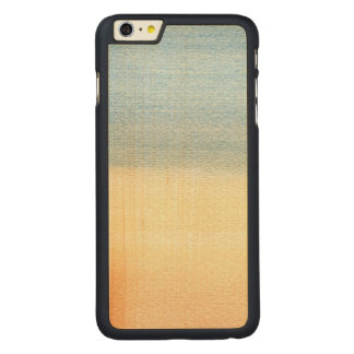 Abstract Watercolor Carved® Maple iPhone 6 Plus Case