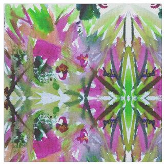 Abstract Watercolor Delia Fabric