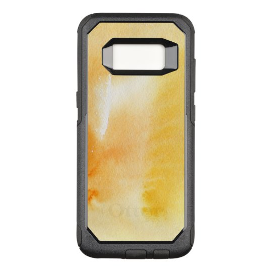 Abstract watercolor hand painted background 14 OtterBox commuter samsung galaxy s8 case