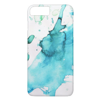 Abstract watercolor hand painted background 2 3 iPhone 7 plus case