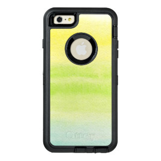 Abstract watercolor hand painted background 2 4 OtterBox iPhone 6/6s plus case