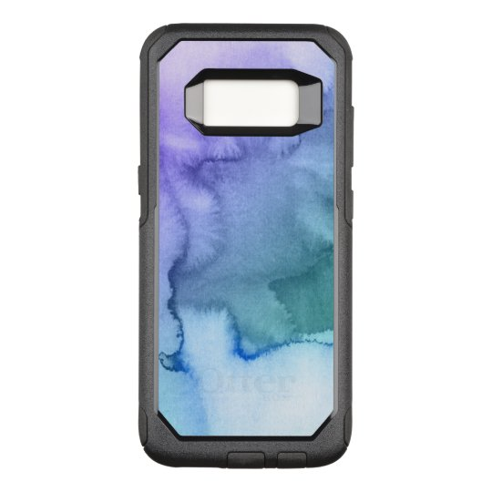 Abstract watercolor hand painted background 6 2 OtterBox commuter samsung galaxy s8 case