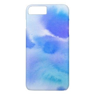 Abstract watercolor hand painted background. iPhone 7 plus case