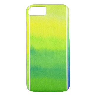 Abstract watercolor hand painted backgrounds set iPhone 7 case