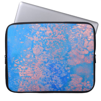 Abstract watercolor laptop computer sleeves