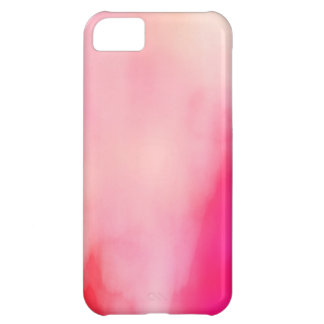 Abstract Watercolor Pink Coral Orange Colorful Cover For iPhone 5C