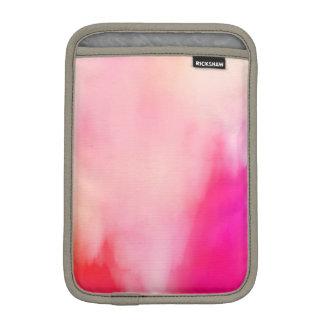 Abstract Watercolor Pink Coral Orange Colorful iPad Mini Sleeve