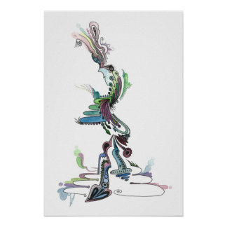 Abstract Watercolour Poster # 16