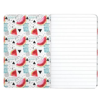 Abstract Watermelon Pattern Journal