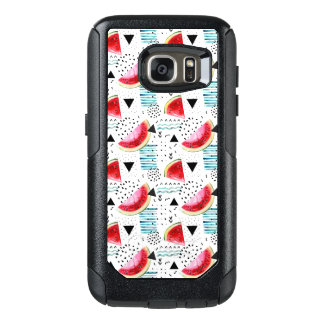 Abstract Watermelon Pattern OtterBox Samsung Galaxy S7 Case