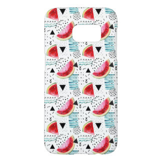 Abstract Watermelon Pattern Samsung Galaxy S7 Case