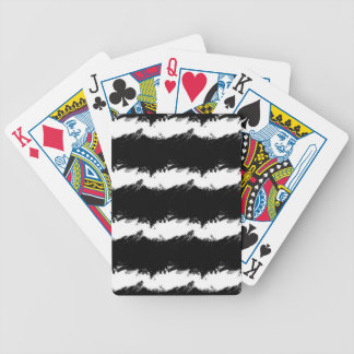 Abstract Wave Bicycle Playing Cards