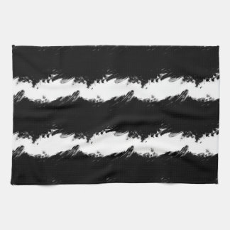 Abstract Wave Kitchen Towel
