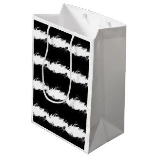 Abstract Wave Medium Gift Bag