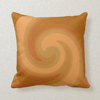 Abstract Wave Pillow-Home Decor-Earthtones Throw Pillow