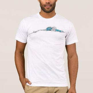 Abstract Wave (Surf Art) T-Shirt