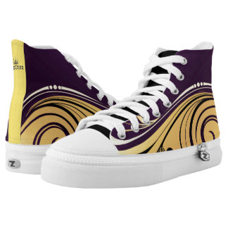 Abstract Waves High Tops