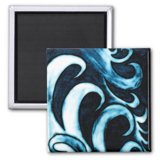 Abstract Waves Magnet