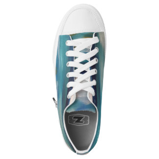 Abstract Waves - Women's Sneakers