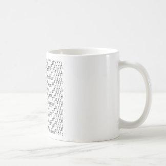 Abstract Wavy Indonesian Textile Coffee Mug
