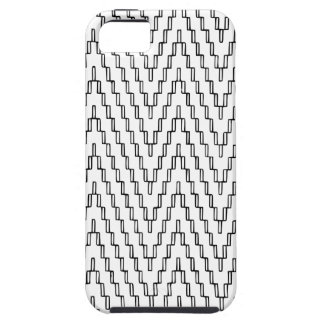Abstract Wavy Indonesian Textile iPhone 5 Cover