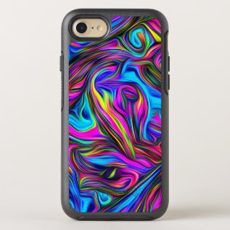 Abstract Wavy Pattern OtterBox Symmetry iPhone 8/7 Case