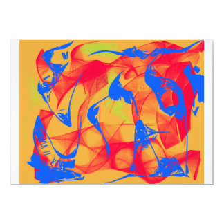 Abstract web card