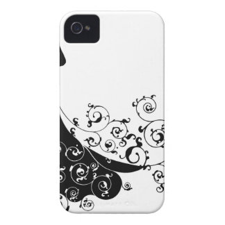 Abstract Wedding Bride Silhouette Case-Mate iPhone 4 Cases