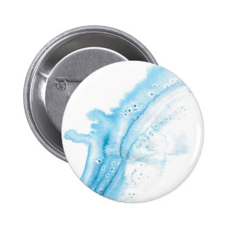 Abstract Whale 2 Inch Round Button