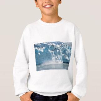 Abstract white ice Alaska mountains Sweatshirt