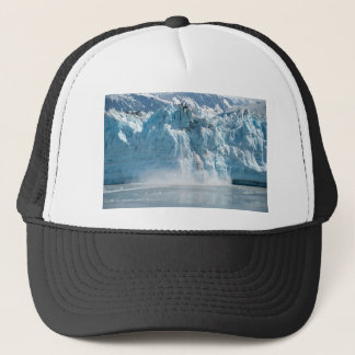 Abstract white ice Alaska mountains Trucker Hat