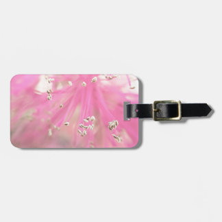 Abstract Wild Flower Luggage Tag