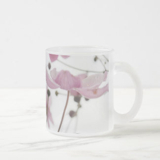 Abstract Wildflowers 10 Oz Frosted Glass Coffee Mug