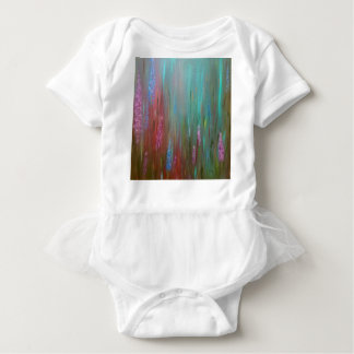 Abstract Wildflowers Baby Bodysuit