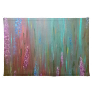 Abstract Wildflowers Placemat