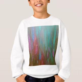 Abstract Wildflowers Sweatshirt