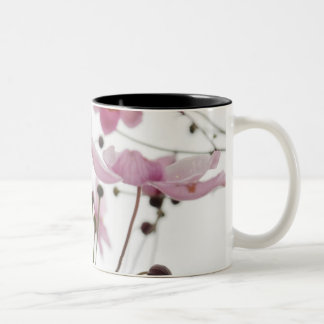 Abstract Wildflowers Two-Tone Coffee Mug