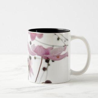 Abstract Wildflowers Two-Tone Coffee Mug