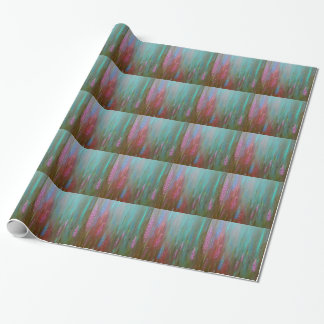 Abstract Wildflowers Wrapping Paper