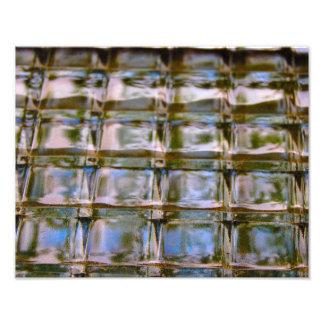 Abstract - Window Block Art Photo