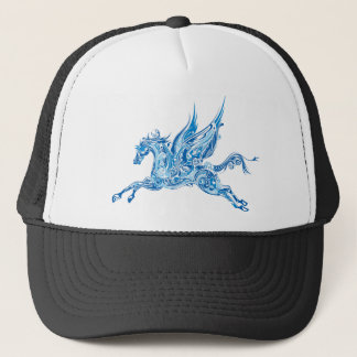 Abstract Winged Horse Trucker Hat