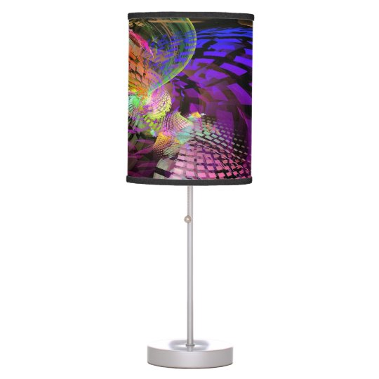 Abstract Wings Desk Lamp
