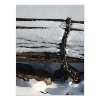Abstract winter art photo