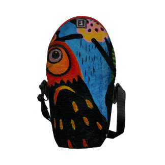 abstract with the bird's eye commuter bag