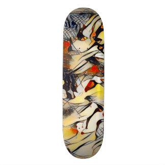 Abstract Wolf Element Custom Pro Park Board Skate Board Decks