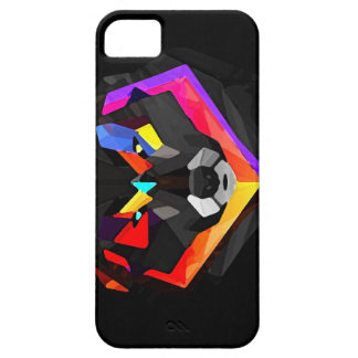 Abstract wolf iphone iPhone 5 case