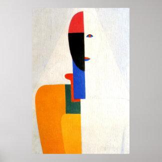 "Abstract ""Woman Torso"" Poster"