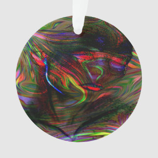 Abstract Woman Two Ornament