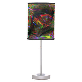 Abstract Woman Two Table Lamp